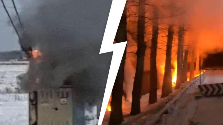 «Замерзнуть никто не успел»: электрики рассказали, почему поселки под Екатеринбургом вновь остались без света