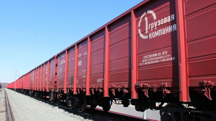 Первая грузовая компания ускорила доставку сырья на промплощадку Северстали