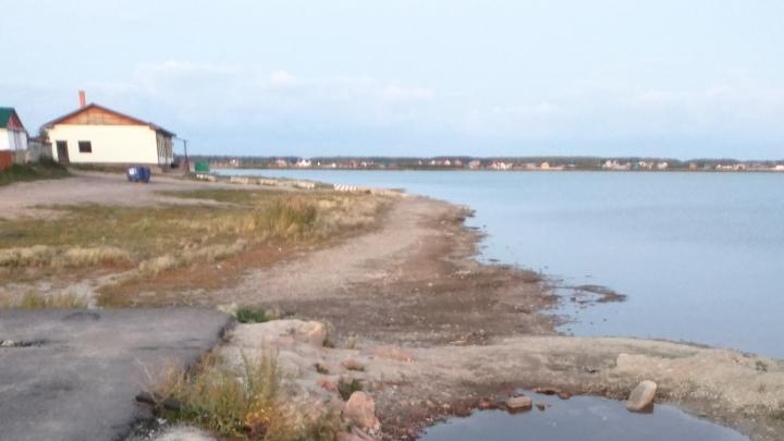 «Вода ушла за ночь»: жители пригорода пожаловались на резкое обмеление озера под Челябинском