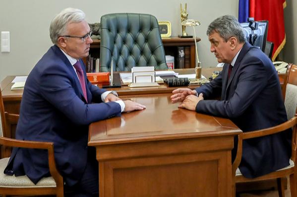 Рабочий визит полпреда президента в Красноярск