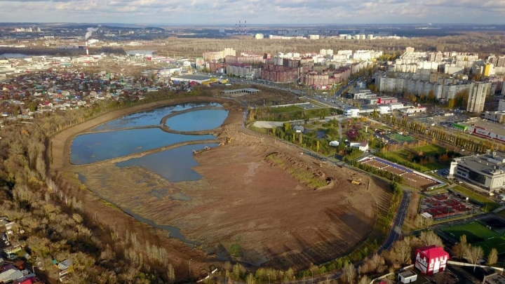 Радий Хабиров рассказал, почему строители до сих пор не сдали парк «Кашкадан» в Уфе