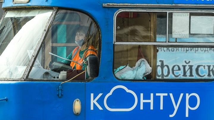 В пятницу в Екатеринбурге остановят движение трамваев по Ленина