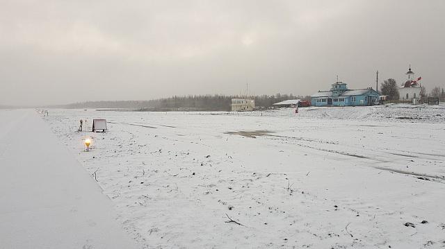 На Соловках завершили реконструкцию взлетно-посадочной полосы аэропорта. На это ушло около двух лет