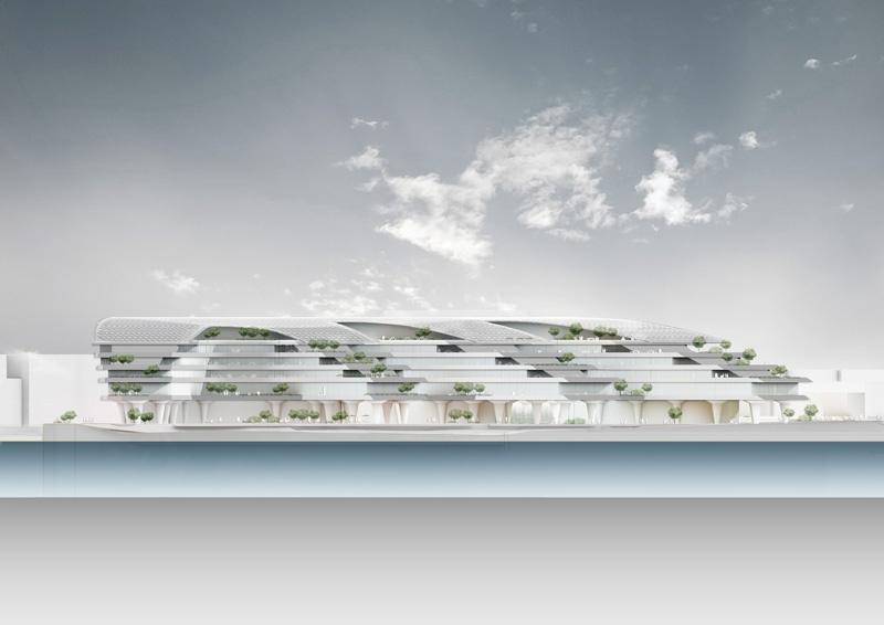 материалы предоставлены архитектурными бюро ABD architects и Ingenhoven Architects