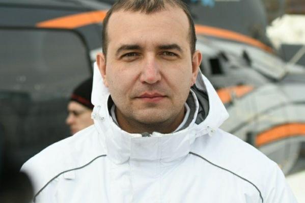 Максим Суворов, заведующий приемным отделением краевой клинической больницы