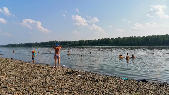 МЧС разрешило работу одного пляжа и четырех мест отдыха у воды в Кемерово