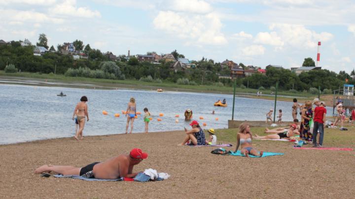 Жители поселка под Уфой попросили властей организовать оборудованные места для купания