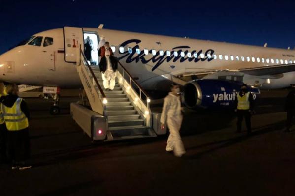 Накануне республика уже приняла несколько рейсов из Якутии