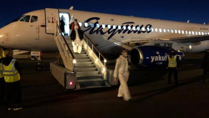 В Башкирию из Якутии вылетели еще 200 вахтовиков