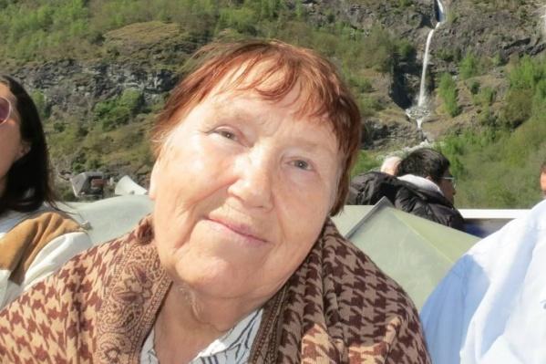 Людмиле Александровне было 83 года