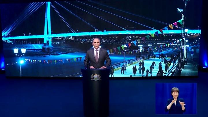 Тюменские весы, смекалка и «новые вызовы»: губернатор выступил с посланием к облдуме (и нам)