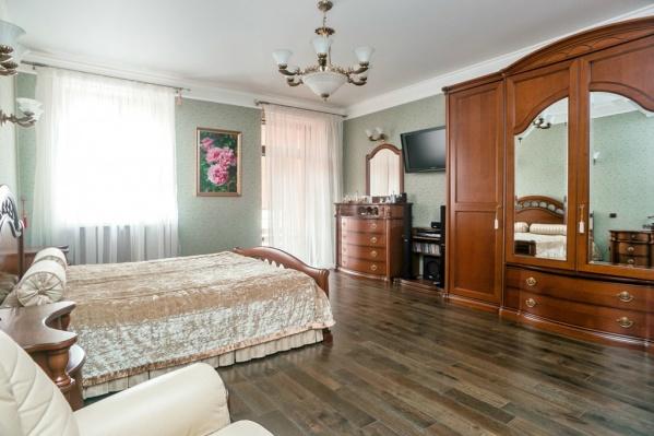 Так выглядит одна из спален
