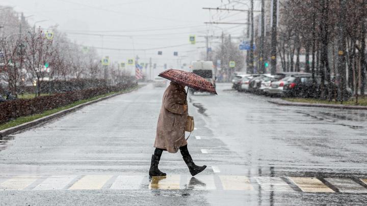 Из-за снегопада на трассы Челябинской области выводят дополнительные экипажи ГИБДД