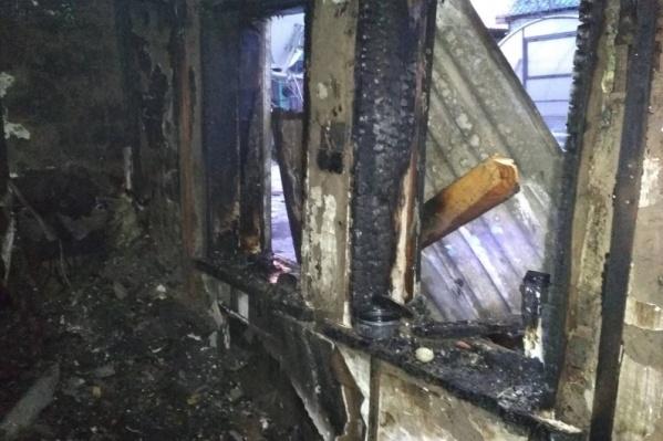 Тело мужчины обнаружили после тушения пожара