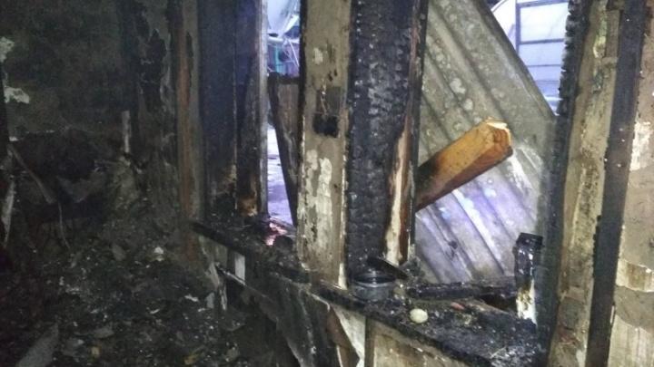 В Кургане при пожаре в жилом доме погиб пенсионер