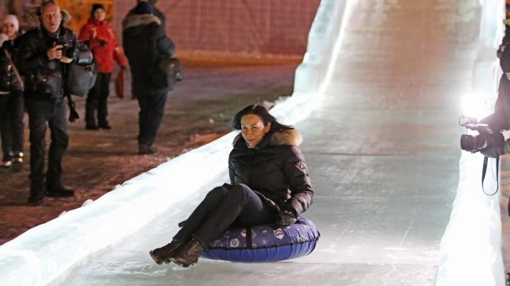 Ледовый городок на площади Революции в Челябинске будет работать с ограничениями