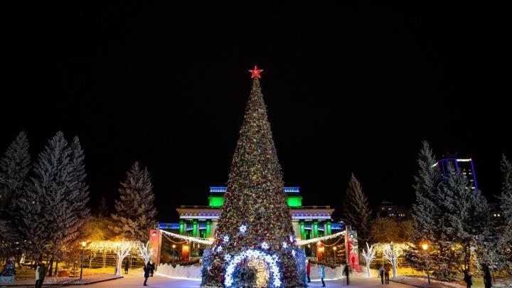 Город сияет: обзор самых нарядных мест в Новосибирске (почему так красиво только под Новый год?)