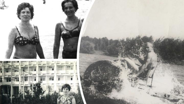 Пляжи прошлого века: как купались и загорали тюменцы 60, 50 и 40 лет назад