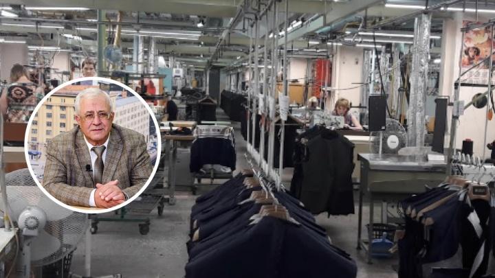 Скончался генеральный директор новосибирской фабрики «Синар»