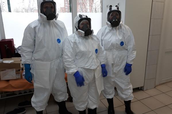 Красноярские врачи прошли обучение как вести себя в случае коронавируса