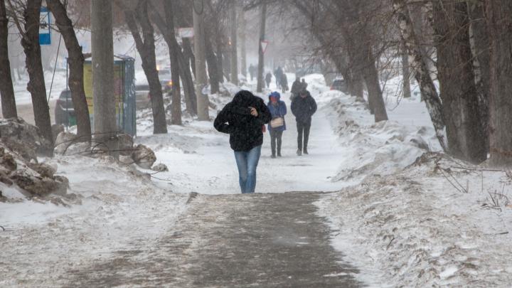Здравствуй, зима: в Самаре ожидаются мокрый снег, дождь и гололедица