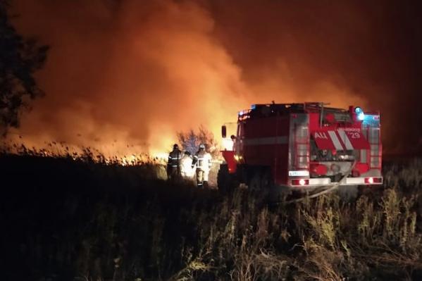 Пожар начался утром 26 сентября