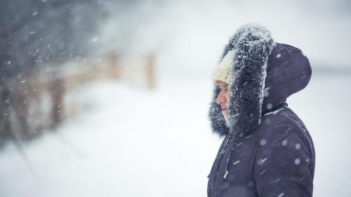 Новосибирскую область ждут морозы до -25градусов