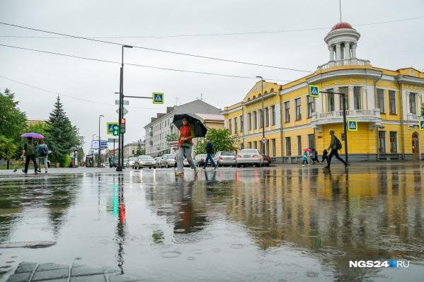 Дожди возобновятся во вторник и будут всю неделю