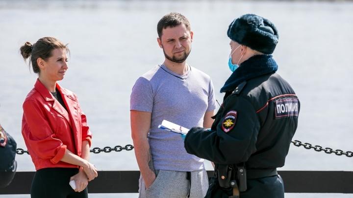 За неделю полицейским попались 3 тысячи нарушителей режима изоляции
