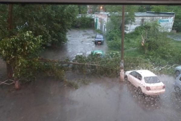 Последствия майского шторма