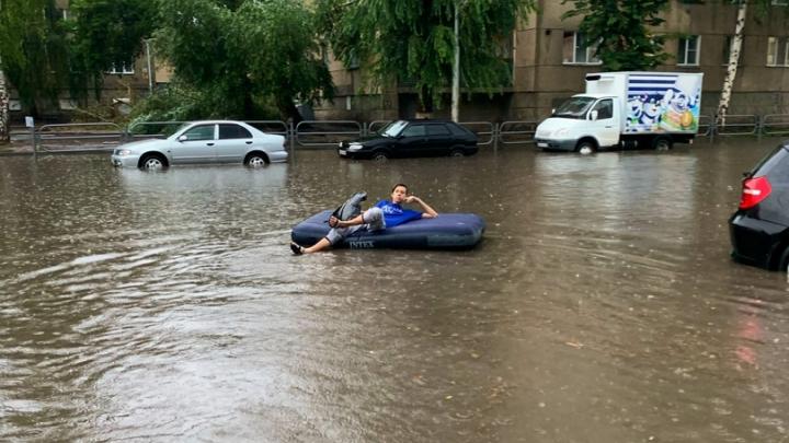 Курганцев ожидает дождливая и прохладная неделя