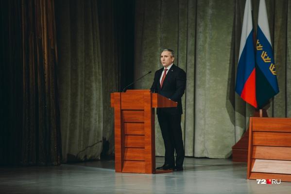Александр Моор выступил в эфире федерального телеканала