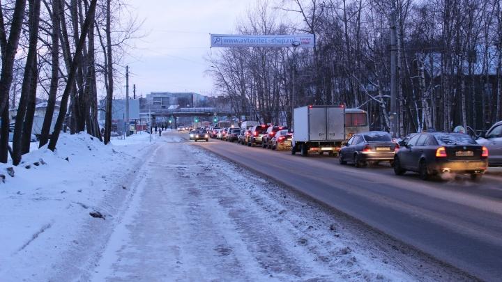 Московский проспект частично перекроют для автомобилей на пять дней