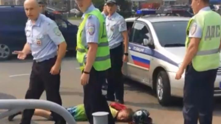 В Перми бывший сотрудник ДПС получил условный срок за грубое задержание подростка на мотоцикле