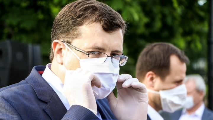 Глеб Никитин анонсировал возвращение ограничений из-за роста заболеваемости коронавирусом