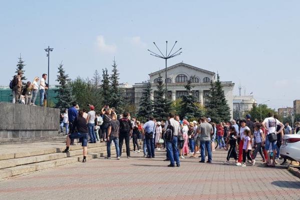 Красноярцы выходят на улицы в поддержку Хабаровска уже в третий раз