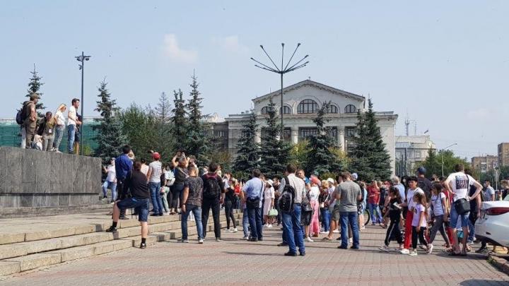 Красноярцы снова вышли на митинг в поддержку жителей Хабаровска