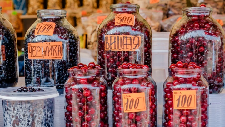 От черники до вишни и смородины: где купить свежие ягоды в Перми и сколько они стоят