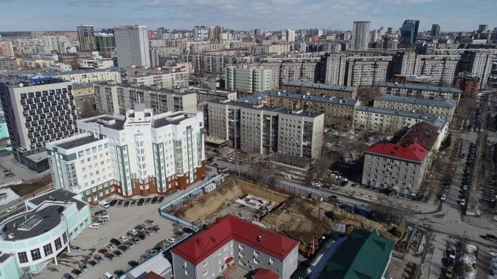 Стало известно, что построят рядом с площадью Гарина-Михайловского