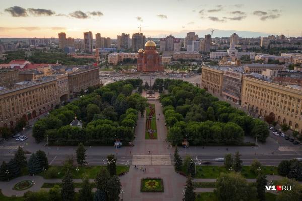 Пока еще в Волгограде остались по-настоящему живые и зеленые «островки»