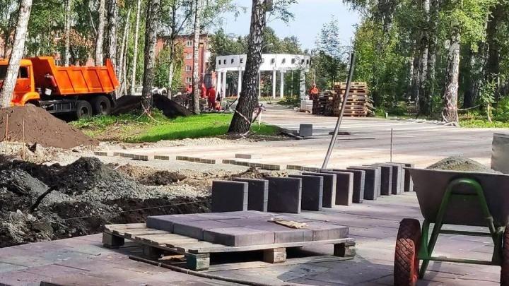 Илья Середюк рассказал о ремонте Берёзовой рощи в Кемерово