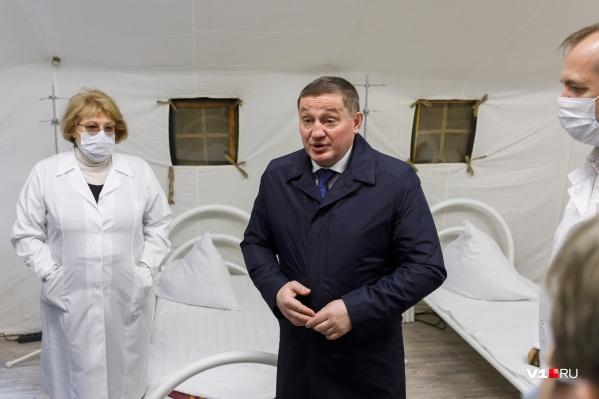 В Волгоградской области развернут еще 100 дополнительных коек