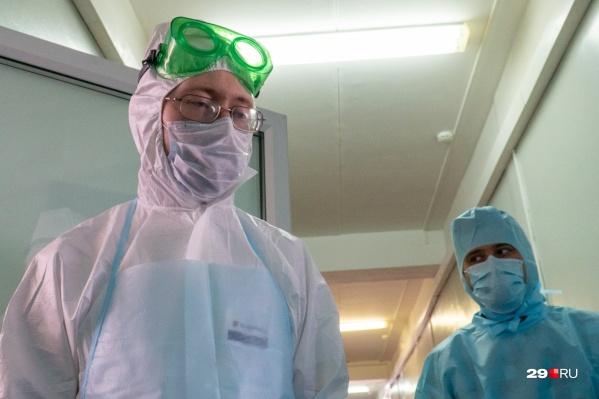 Еще в одной больнице — вспышка вируса