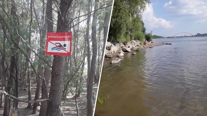 Двое утонули, третьего ищут. На диком пляже Новосибирска едва не погибла девочка — унесло тех, кто её спасал