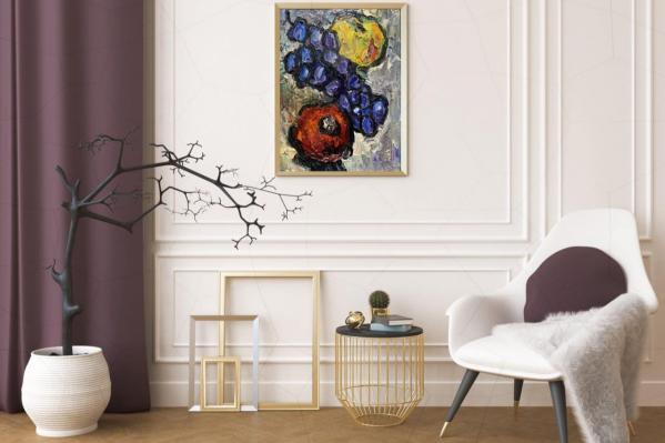 Картины украсят офис, ресторан, салон или квартиру, уверена сотрудница благотворительного фонда