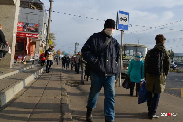 Без маски даже могут не пустить в автобус
