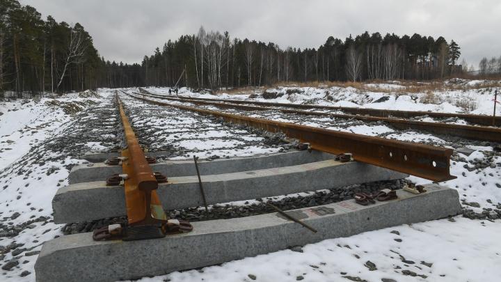 Для трамвайной линии из Екатеринбурга в Верхнюю Пышму построили первую трансформаторную подстанцию