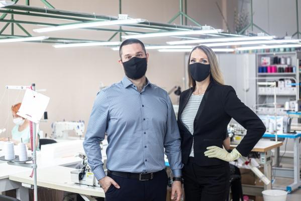 Основатели швейной фабрики IM Iron Mafia Евгений и Евгения Шиловы