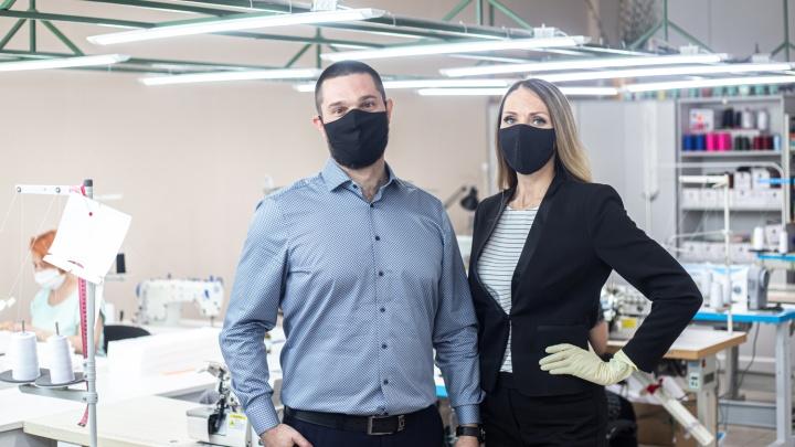 Из-за дефицита масок сибиряки за сутки перепрофилировали швейное производство, сохранив рабочие места