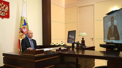 Цыбульский попросил у Путина деньги на строительство 10 многовартирных домов сверх нацпрограммы
